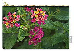 Carry-all Pouch featuring the photograph Lantana by Joseph Yarbrough