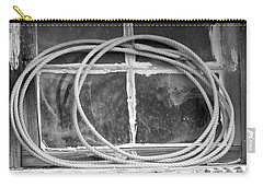 Carry-all Pouch featuring the photograph Lasso In The Window  by Deniece Platt