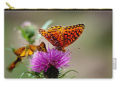 Late For Lunch Carry-all Pouch by Vicki Pelham