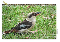 Laughing Kookaburra Carry-all Pouch by Kaye Menner