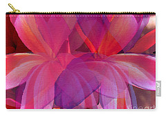 Lavender Plumerias Carry-all Pouch