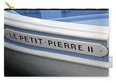 Carry-all Pouch featuring the photograph Le Petit Pierre II by Lainie Wrightson