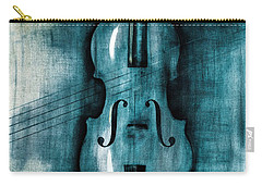 Le Violon Bleu Carry-all Pouch