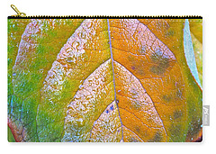 Carry-all Pouch featuring the photograph Leaf by Bill Owen