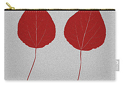 Leafs Rouge Carry-all Pouch by Bruce Stanfield