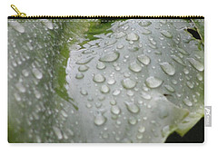 Carry-all Pouch featuring the photograph Leafy Greens by Tiffany Erdman