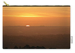Leicestershire Sunrise Carry-all Pouch by Linsey Williams