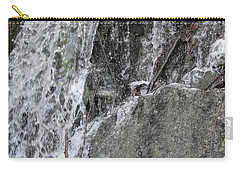 Carry-all Pouch featuring the photograph Let It Flow by Tiffany Erdman