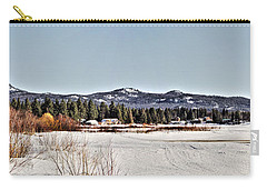 Life On The Lake Carry-all Pouch by Janie Johnson