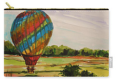 Carry-all Pouch featuring the painting Lift Off by John Williams