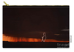 Lightning At The Grand Canyon Carry-all Pouch