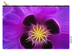 Lilac Poppy Carry-all Pouch