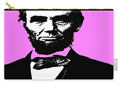 Carry-all Pouch featuring the digital art Lincoln by George Pedro