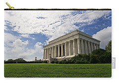 Lincoln Memorial And Sky Carry-all Pouch