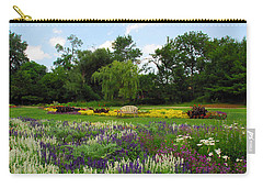 Carry-all Pouch featuring the photograph Lincoln Park Gardens by Lynn Bauer