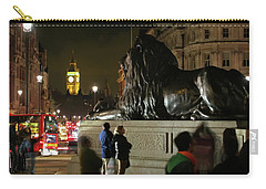 Carry-all Pouch featuring the photograph Lion An Ben by Pedro Cardona