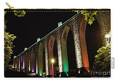 Lisbon Historic Aqueduct By Night Carry-all Pouch