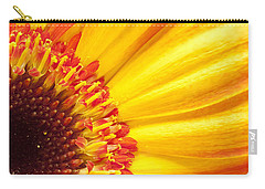 Carry-all Pouch featuring the photograph Little Bit Of Sunshine by Eunice Gibb