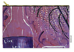 Live Love Laugh Wine Carry-all Pouch