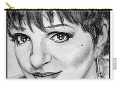 Liza Minnelli In 2006 Carry-all Pouch by J McCombie