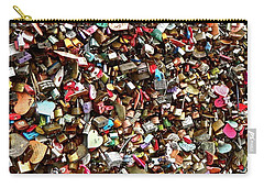 Locks Of Love Carry-all Pouch by Kume Bryant