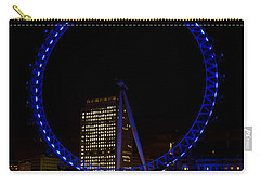 London Eye And River Thames View Carry-all Pouch