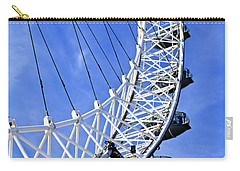London Eye Carry-all Pouch by Elena Elisseeva
