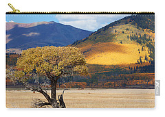 Carry-all Pouch featuring the photograph Lone Tree by Jim Garrison
