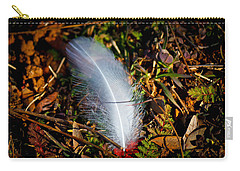 Lonely Feather Carry-all Pouch by Doug Long