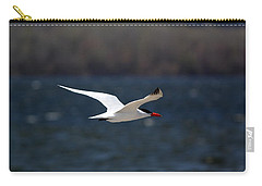 Carry-all Pouch featuring the photograph Long Haul Flight by Ramabhadran Thirupattur