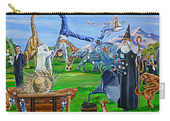 Looking Out My Back Door Carry-all Pouch by Bryan Bustard