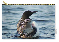 Loon Dance 1 Carry-all Pouch by Steven Clipperton