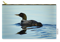 Loon Carry-all Pouch by Steven Clipperton