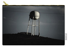 Carry-all Pouch featuring the photograph Lopsided Tower by Jessica Shelton