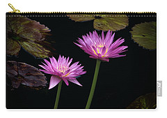 Lotus Water Lilies Carry-all Pouch