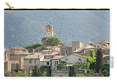 Carry-all Pouch featuring the photograph Lourmarin In Provence by Carla Parris