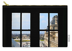Louvre Window Carry-all Pouch