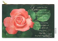 Love Is Carry-all Pouch by Lena Auxier