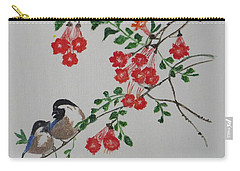 Carry-all Pouch featuring the painting Love by Sonali Gangane