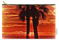 Loving Palms-the Journey Carry-all Pouch by Janie Johnson