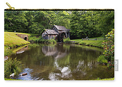 Mabry Mill And Pond Carry-all Pouch
