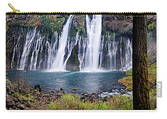 Macarthur-burney Falls Panorama Carry-all Pouch
