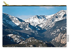 Carry-all Pouch featuring the photograph Majestic Rockies by Colleen Coccia
