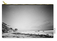 Carry-all Pouch featuring the photograph Malibu Peace And Tranquility by Nina Prommer