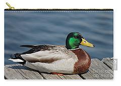 Mallard Profile Carry-all Pouch