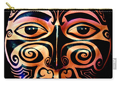 Maori Mask Carry-all Pouch