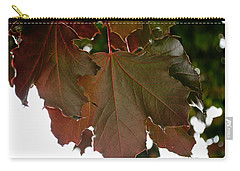 Carry-all Pouch featuring the photograph Maple 2 by Tikvah's Hope