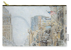 Market Street In Winter In St.louis Carry-all Pouch