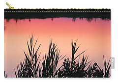 Carry-all Pouch featuring the photograph Marsh Sunset by Clara Sue Beym