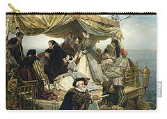 Mary Stuart's Farewell To France Carry-all Pouch by Henry Nelson O Neil